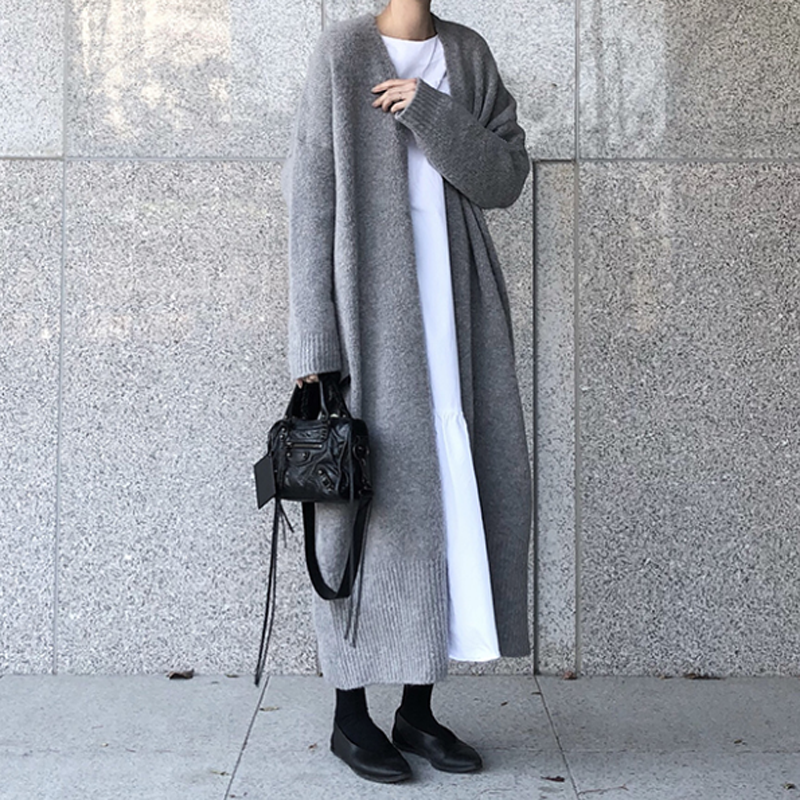 Women Oversized Long Sweater