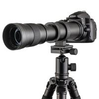 420 800mm F/8.3 F/16 Telephoto Lens for Canon Nikon Minolta Pentax Sony DSRL