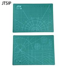 Jtsip a4 двухсторонний коврик для резки из ПВХ прочный самовосhealing