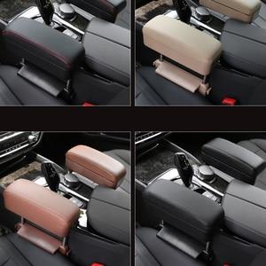 Image 5 - אוניברסלי רכב רכוב מרכזית תיבת תיבת מרפק תמיכת Pad רכב מרכז קונסולת למשענות רכב סיאט קופסות אחסון a30