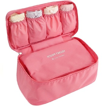 YIYONGFINE New Travel Bra Bag Underwear Organizer Cosmetic Daily Toiletries Storage Women's High Quality Wash Case - discount item  19% OFF Travel Bags