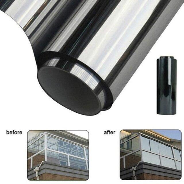 300cmx50cm Black Car Window Foils Tint Tinting Film Roll Car Auto Home Window Glass Summer Solar UV Protector Sticker Films 2