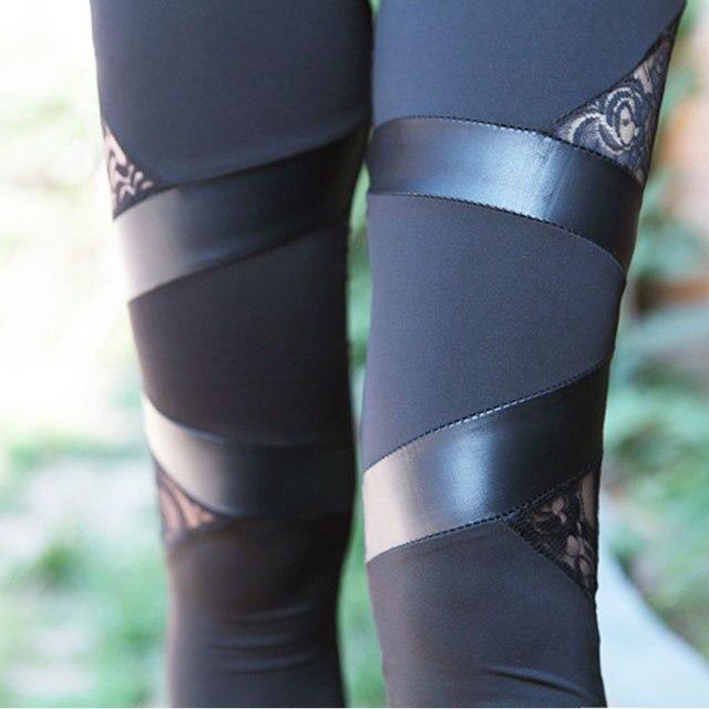 Punk Gothic Rock Legging 4