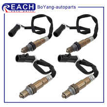 lambda o2 sensor downstream paer for 2000 06 jaguar xk xk8 coupe convertible 4 2l 99 05 jaguar vanden sedan no 234 4735 234 4798 4 Wires O2 Oxygen Sensor Upstream Front Downstream for 2004 2005 Explorer Sport Trac V6-4.0L 234-4401 234-4403 Car Replacement