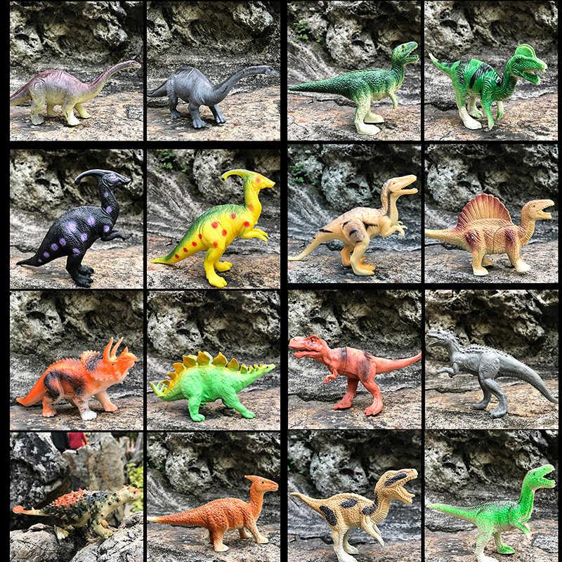 15 centimetri Grande Formato Jurassic Selvaggio Vita Dinosauro Giocattolo Set Di Gioco di Plastica Giocattoli Parco Del Mondo Modello di Dinosauro Action Figures Bambini regali Decorare