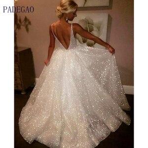 Женское длинное блестящее платье на бретельках, элегантное вечернее платье с открытой спиной и яркой проволокой в американском стиле