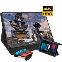 "13.3""15.6"" inch 4K Portable Monitor HDR 1080P IPS Type-C LCD Display with HDMI Input Gaming Monitor for PS4/Xbox Computer PC(China)"