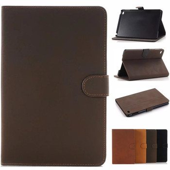 For Apple iPad Air Air2 Pro 9.7 Tablet Case, Retro Matte Smart Leather Cover Shell Case with Stand Funda for IPad 9.7 2017 2018