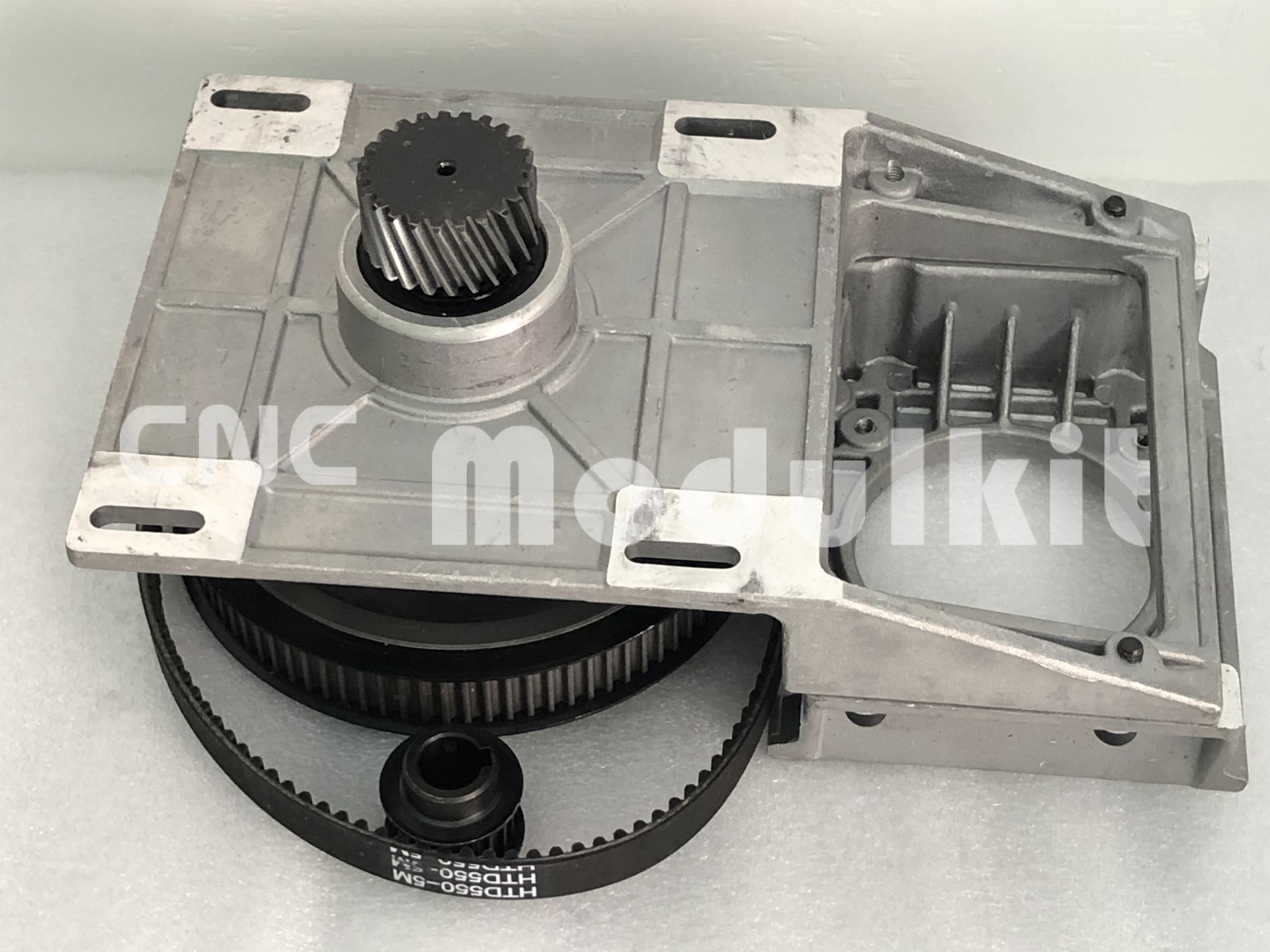 CNC Machinery Helical Gear Integrated Gear Iron Housing Reduction & Pinion & Pully & Belt In Complete Kit  By CNC Modulkit sticker