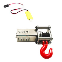 Маленькая практичная пластиковая автоматическая лебедка, прочное электронное управление, детская игрушка, моделирование для 1/16 WPL B14 B24 B26 C14 MN90