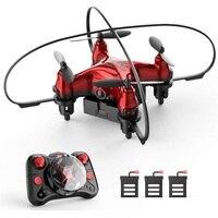 Mini Dron teledirigido de bolsillo fácil para niños, cuadricóptero con control de altitud, 3 modos de velocidad, sin cabeza, trucos voladores, juguetes para niños, regalos