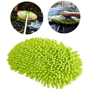 High Quality Car 360 Degree Spin Wet Mop Head,Microfiber Auto Cleaning Mop Head Refill for Car and Home Clean Tools vileda easy wring and clean turbo microfibre 2in1 replacement refill mop head accessory home cleaning tools