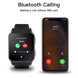 Image 2 - Bluetooth Call IP68 Waterproof Smart Watch Men GPS Pedometer Heart Rate Monitor WIFI 3G Android Smartwatch For Android IOS