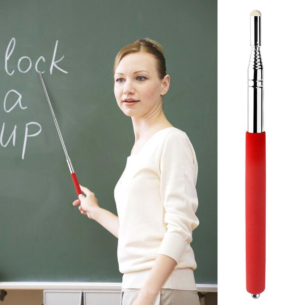 1M Portable Extendable Pointer Handheld Presenter Classroom Whiteboard Felt Head Pointer Pen for Teaching Meeting  Teach Tools