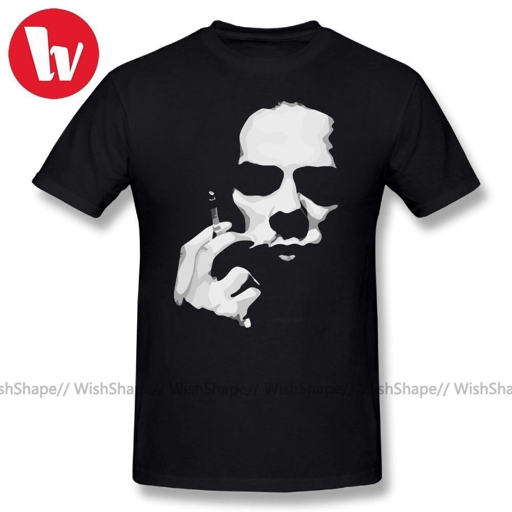 Nick Cave T Shirt Men Cartoon Print Skull T-Shirt Short Sleeve Tee Shirt Big Plus Size Classic Summer Casual T Shirts Plus Size