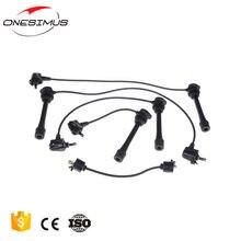 Один комплект кабелей зажигания Провод Свечи oem 90919 21489