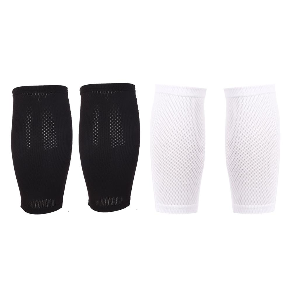 Professional Football Holder Leg Protector Fixed Sleeve Men Shin Guard Training Protective Gear Breathable 22CM Fabric