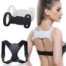 Adulto crianças costas postura corrector clavícula volta apoio correção volta ombros retos cinta com velcro