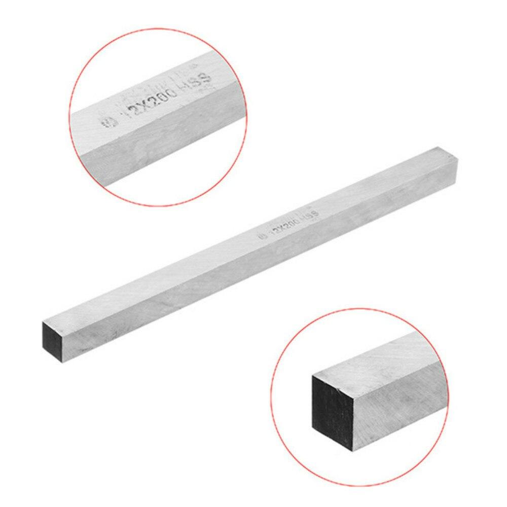 Купить с кэшбэком free shipping 2pcs HSS 12mm x 12mm x 200mm Square Lathe Tool Bit Boring Bar Fly Cutter HRC60