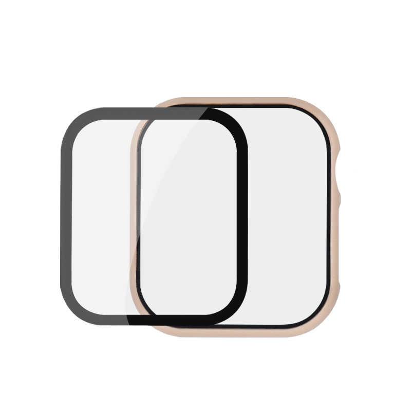 Funda protectora y película para apple watch 5 4 44mm 40mm apple watch 42mm 38mm iwatch/5/4/3/2 HD claro Ultra-delgada Protector de la cubierta