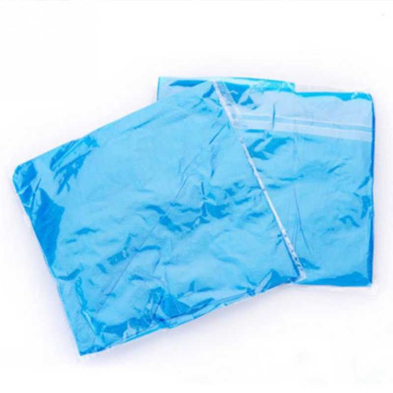 Venta caliente 1 par de fundas de botas resistentes al agua de plástico grueso desechable para Botas de lluvia