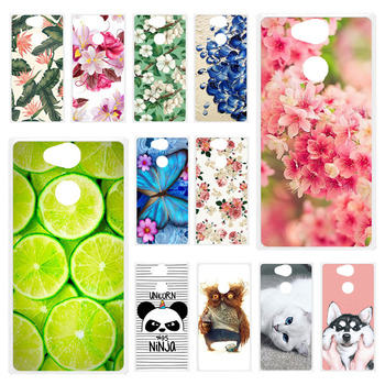 Phone Case For Sony Xperia XA2 Case Soft Silicone Painting Fundas For Sony XA2 Cover H3113 H3123 H3133 H4113 5.2 inch Cover