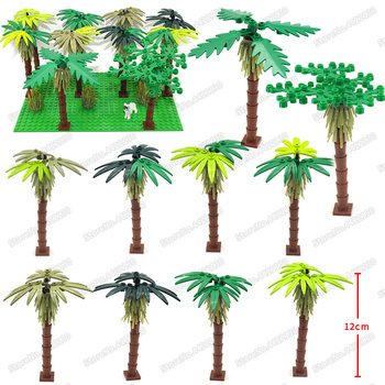 Tree shrub Set PUBG Building Blocks Piece Lot Military City Street Special Forces Figures Weapons Building Christmas gifts  Toys 12pcs set military wapen special armed forces soliders action figures gun toys building blocks compatible legoings for child
