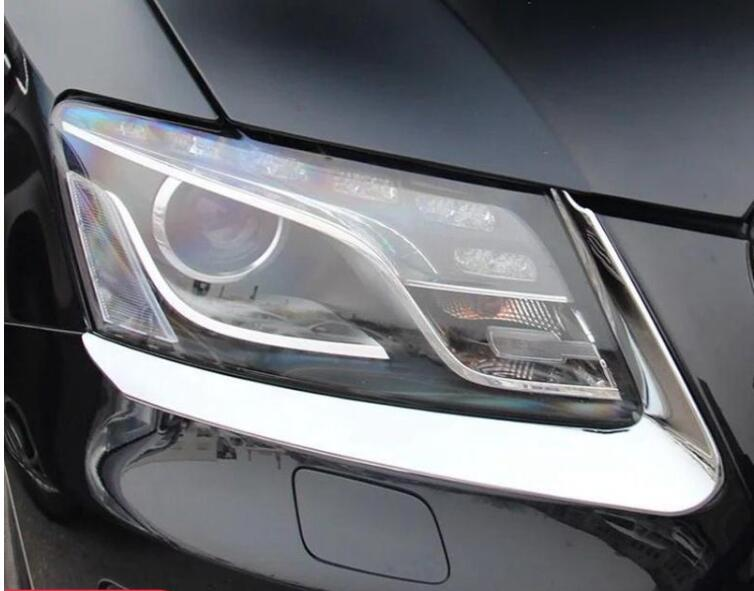2 шт., накладки на передсветильник фары для Audi Q5 2009 2010 2011 2012