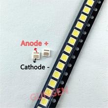 10000 pces originais para everlight led 3030 3v contas de luz 1w lcd tv luz de fundo contas de luz 3v emc branco fresco com pressão zener