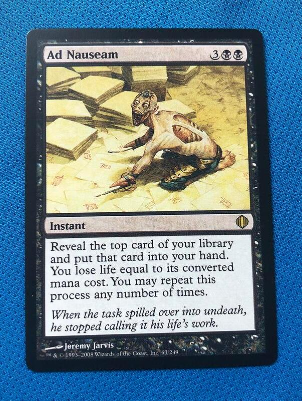 Ad Nauseam	Shards Of Alara (ALA) Magician ProxyKing 8.0 VIP The Proxy Cards To Gathering Every Single Mg Card.