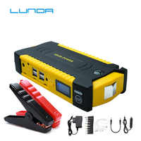 LUNDA 19B arrancador de batería de coche gran tasa de descarga banco de energía Diesel para coche Motor vehículo booster start jumper battery