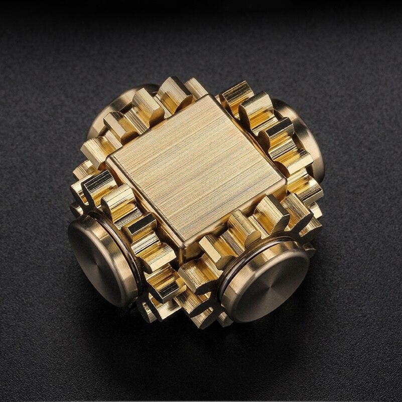 Fidget Spinner Cube Gyro-Gear Edc Toys Decompression Fingertip Adult Mechanical-Gyro img5