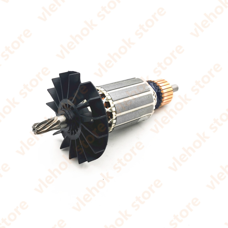 7 Teeth 220V-240V Armature Rotor Anchor replace For <font><b>BOSCH</b></font> GBH2-<font><b>28</b></font> GBH2-28D GBH2-28DFV GBH <font><b>2</b></font>-28D <font><b>2</b></font>-28DFV Rotary hammer spare image