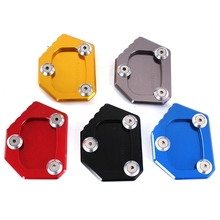 For Honda NC700S NC700 Integra CBR500R CB500F/X CBR600RR CBR650F CBR600F CNC Motorcycle Kickstand Side Stand Extension Pad Plate