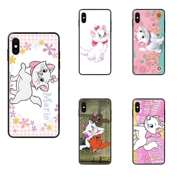 Black Soft TPU Art Online Cover Case The Aristocats Newest For Huawei Honor Mate Play V10 View 10 20 20X 30 Lite Pro Y3 Y5 Y9 image
