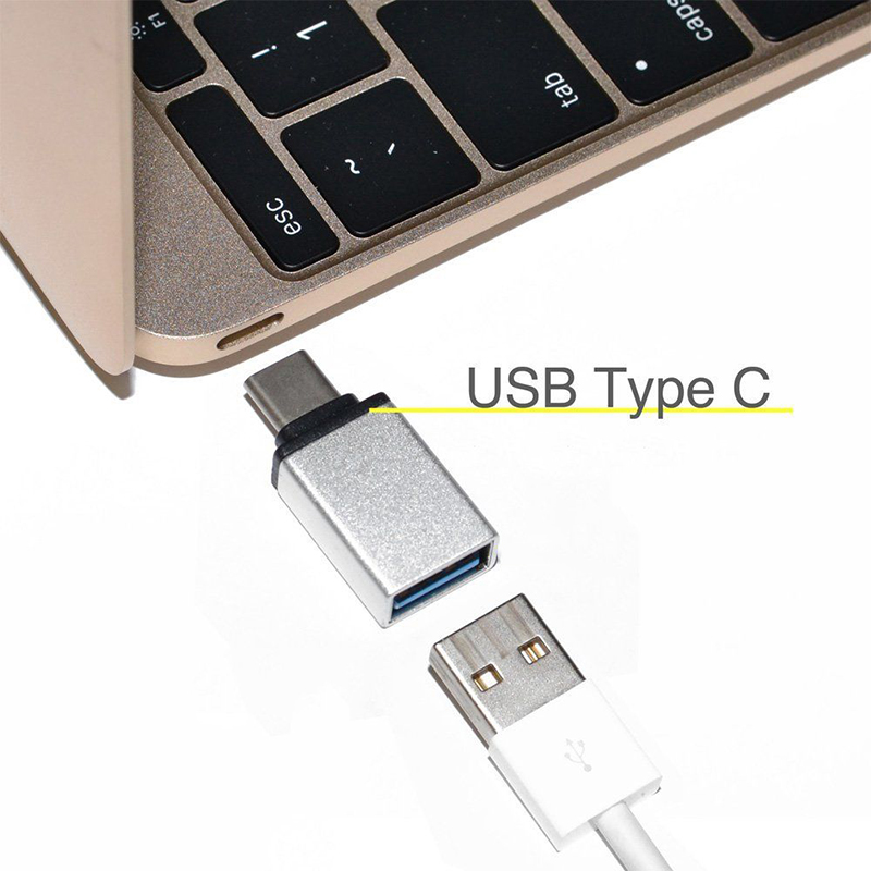Portable Light Weight Creative Type-C Male To USB 3.0 Female Data Connector For Android Phone Converter Adapter Connector New