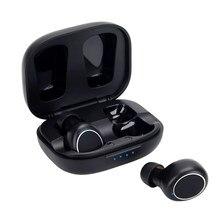 Mornlex mt01 tws bluetooth 5.0 fones de ouvido estéreo sem fio botão controle cancelamento ruído jogos esportes à prova dheadset água fone