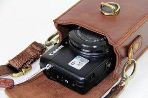 Image 5 - חדש עור מפוצל מצלמה מקרה עבור Canon G9X G7X G7X השני SX710 SX700 SX720 S95 S90 SX260 SX240 SX275 S90 S120 s110 SX610 SX400 SX410