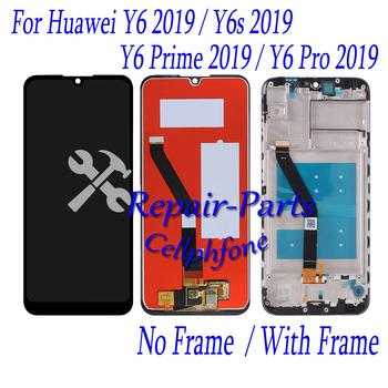 6 09 cal czarny nowy dla Huawei Y6 2019 Y6 Prime 2019 Y6 Pro 2019 pełny wyświetlacz LCD + ekran dotykowy Digitizer zgromadzenie tanie i dobre opinie Goulangxian Pojemnościowy ekran 1280x720 3 For Y6s 2019 MRD-LX3 MRD-LX1 MRD-L21 MRD-L21A LCD i ekran dotykowy Digitizer