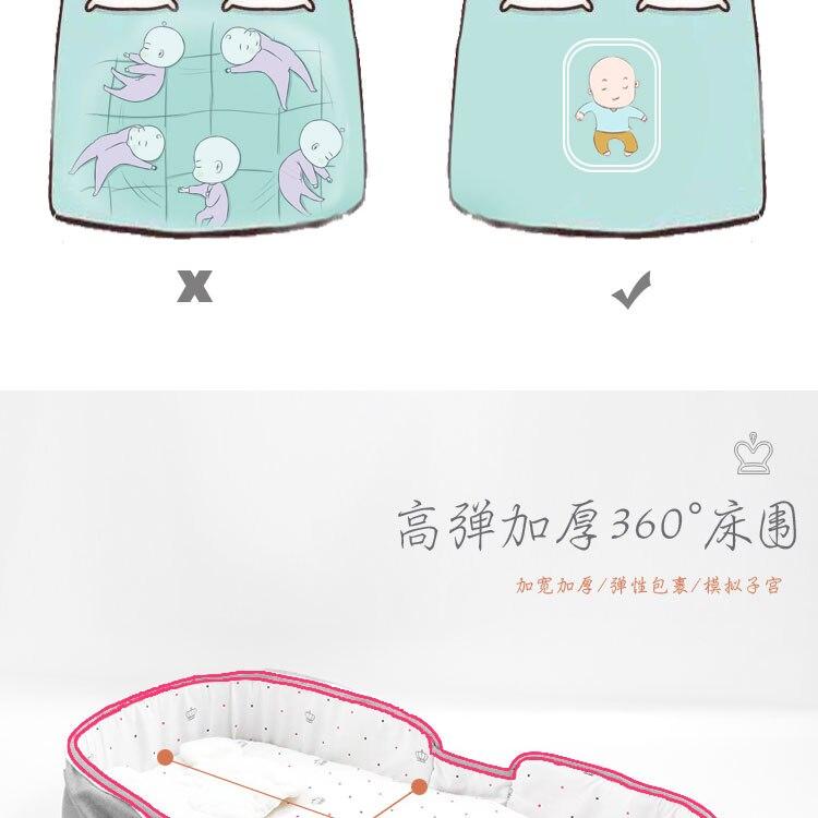 solar mosquito net respirável macio infantil multi-função dobrável cama com brinquedos