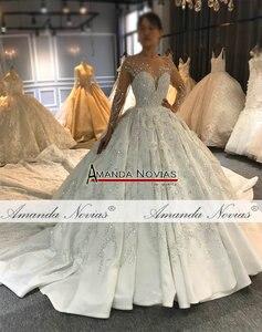 Image 2 - Amanda Novias robe de mariée sur mesure, robe de mariée luxueuse, design, bonne qualité, 2020