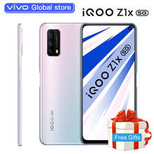 Original vivo iQOO Z1x Smart telefon Dual-modus 5G Smartphone Snapdragon 765G 5000mAh Batterie 33W lade 120Hz Celular Handy