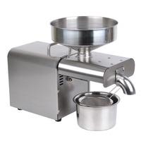 110/220V stainless steel oil press machine Multi functional oil expeller for factory price oil press tool Oil Pressers     -