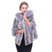 Mink fur coat ladies fight mink fashion simple pure color slim fit fur coat European and American new coat wholesale