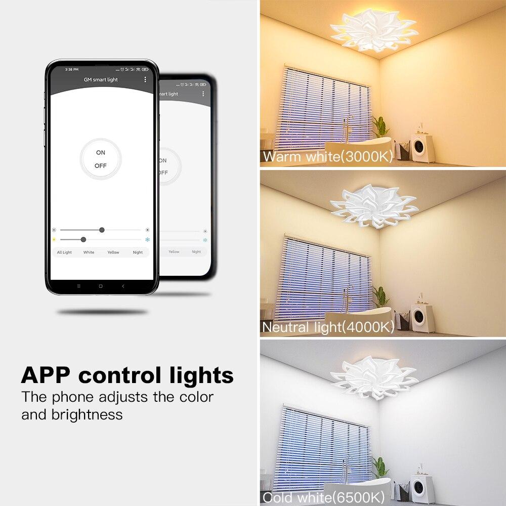 New led Chandelier For Living Room Bedroom Home chandelier by sala Modern Led Ceiling Chandelier Lamp Lighting chandelier