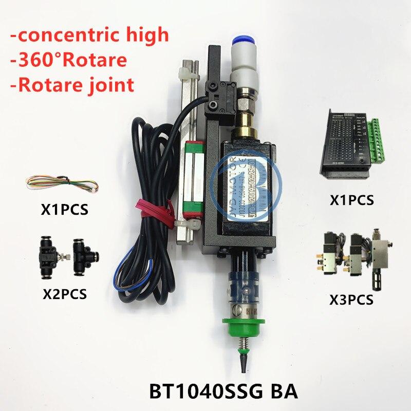 BT1040 SMT HEAD Nema8 hollow shaft stepper for pick place head SMT DIY mountor 5mm special