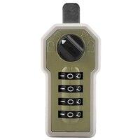 Zamek szyfrowy naścienny 4 kod cyfrowy hasło Cam Cabinet wygodna kodowana kłódka z kluczem do schowka w Zamki do szafek od Majsterkowanie na