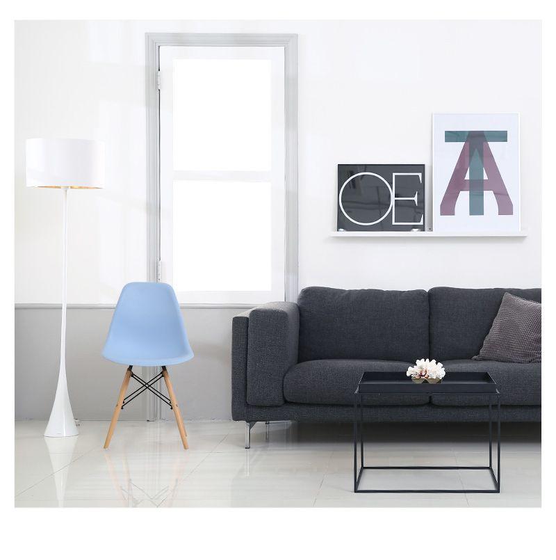 Скандинавские стулья для столовой, простые современные складные маленькие квартиры, ленивые домашние столы, задние пластиковые компьютерные кресла