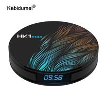 HK1 Max For Android 9.0 스마트 TV 박스 4GB 128GB 64GB 32GB Rockchip TV 수신기 4K Wifi 미디어 플레이어 셋톱 박스 2GB16GB PK H96MAX