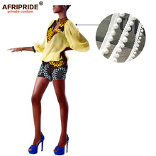 2019 african rompers womens jumpsuit ankara print bodysuit dashiki outfit outwear sexy AFRIPRIDE A1929007
